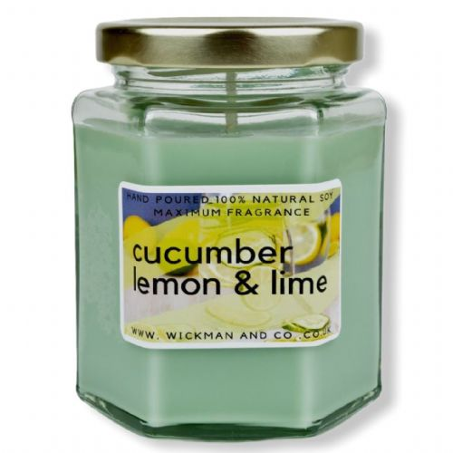 Cucumber, Lemon & Lime Soy Wax Candle